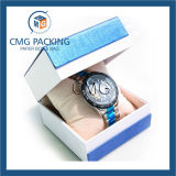 De purpere Met de hand gemaakte Doos van de Verpakking van de Armband van het Fluweel Customzied (cmg-pjb-042)