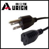Fatto in spina di potere standard americana del cavo di Pin di approvazione 3 dell'UL del fornitore della Cina