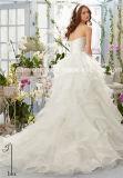 Mori Lee Satin Organza Princesse Morilee aléatoire robe de mariée (Dream-100059)