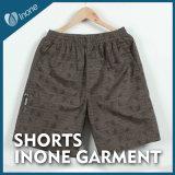 Inone 053 Mens nada Shorts ocasionais da placa das calças curtas