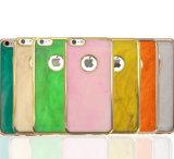 2016 случай iPhone аргументы за сотового телефона Eletroplating TPU способа мраморный (XSDD-005)