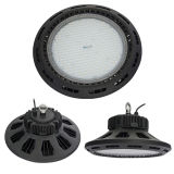 100-250W IP65 Industrial LED Light UFO High Bay com Meanwell Driver
