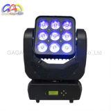 Luz principal móvil de la viga LED del panel de la matriz de la alta calidad