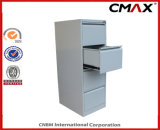 Filing Cabinet 강철 4 서랍 Vertical Steel Cabinet Office Metal Storage Cmax-Fd04-001