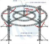 Big professionale Size Circle Truss con Bolt Connector Type