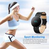 Relógio esperto do bracelete de Gelbert OLED Bluetooth para o presente