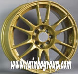 黒いFinishingおよび16-20 Inch Diameter Car Wheels
