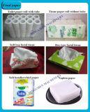 pequeña máquina del papel de tejido de la cara de la alta calidad del molde de 787m m y del papel higiénico