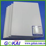 Panneau libre de mousse de Gokai feuille Anti-UV de PVC du blanc 40 x 60