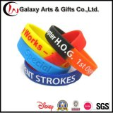 Bracelets faits sur commande personnalisés de silicones de gosses pour la décoration