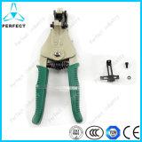 Espadelador automático ajustável do cabo elétrico