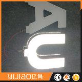 Yijiaoアクリルの二重味方されたLEDの文字