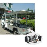 タブレット及びハイブリッド発電機が付いている4seat電気観光のカート