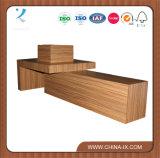 Tableau en bois d'étalage pour la mémoire de vêtement