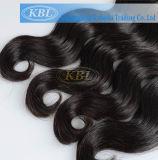 Cabelo humano de 100%, extensão peruana do cabelo