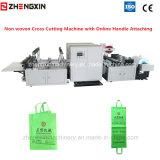 Máquina de corte cruzada não tecida Zxq-C1200 com preço de fixação de punho