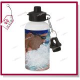 Mejorsub著Sublimationのための500ml WhiteかSilver Water Bottle