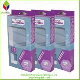 Caja de tarjetas de papel de embalaje de paño