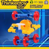 As crianças DIY de Thinkertoyland 3+ livram o brinquedo da instrução da configuração