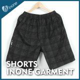 Inone 063 Mens nada Shorts ocasionais da placa das calças curtas
