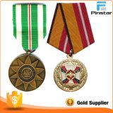Casos de exibição de medalha de prata de alta qualidade