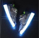 Luces unisex de los zapatos LED de los niños de los zapatos de destello de los cabritos LED
