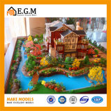 건축 설계 계획안의 표시 축소 모형 건물의 별장 모형 또는 건물 모형 또는 건축에게 모형 만들거나 모든 종류
