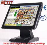 Máquina do registo de dinheiro do supermercado para a venda