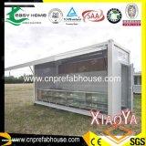 Überprüftes helles Stahlkonstruktion-Fertigluxuxhaus (XYJ-01)