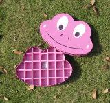 Cajas de regalo lindas del caramelo de la impresión de la rana de la historieta