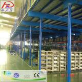 Suelo industrial del entresuelo de los sistemas del almacenaje