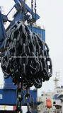 Анкерная цепь соединения стержня зачаливания морского корабля оффшорная