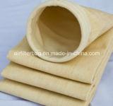 Aguja de Nomex sentida/medios de la tela filtrante/de filtro (filtro de aire)