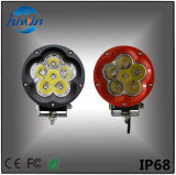 手段のための高い内腔の洪水ライト60W赤い円形LED作業ライト