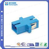Adaptador de uma peça só da fibra óptica SC/PC