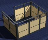 Cloison de séparation claire de bonne qualité de bureau en verre Tempered (SZ-WST771)