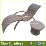 Présidence de salon en osier de cabriolet de syndicat de prix ferme de meubles de rotin