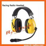 オートバイのヘッドセットの対面無線のヘルメットのヘッドホーンを取り消す二重耳のマフの騒音