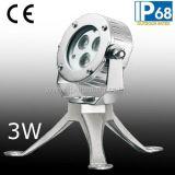Fabricación de Professinal de acero LED subacuática del punto de luz (JP-95131)
