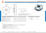 Il disegno centrale del foro dell'ammortizzatore rotativo delle alte di coppia di torsione coperture del metallo