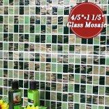 Het bemoste Groene Mozaïek van het Glas van de Smelting van de Band van de Stapel Hete (BGZ019)
