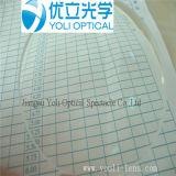 obiettivi ottici acrilici 1.60 di 75mm ASP UV400 Hmc con EMI
