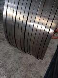 Cerclage en acier peint et ciré de gris