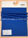 Het gebeëindigde Blauw van de Katoenen/van de Polyester van de Stof Popeline van de Vezel