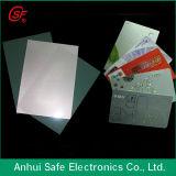 Branco imediato da folha do PVC nenhuns cartões de estratificação do PVC