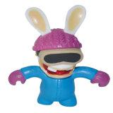 아이들 호의 공장 동물성 최신 판매 도매 PVC 비닐 플라스틱 토끼 장난감