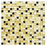 Mosaïque en verre en verre de /Rainbow de mosaïque d'art en verre d'or