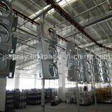 Linha de pulverização do melhor pó eletrostático automático da qualidade