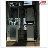 Высокоскоростной домашний лифт с стеклянным подъемом кабины