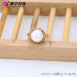 2016 Oro-Plated Women Ring di Xuping Fashion Elegant 18k della sorgente con Imitation Pearl